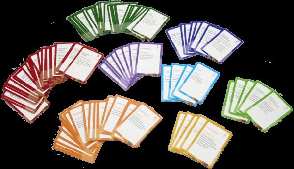 115 kaartjes met richtlijnen