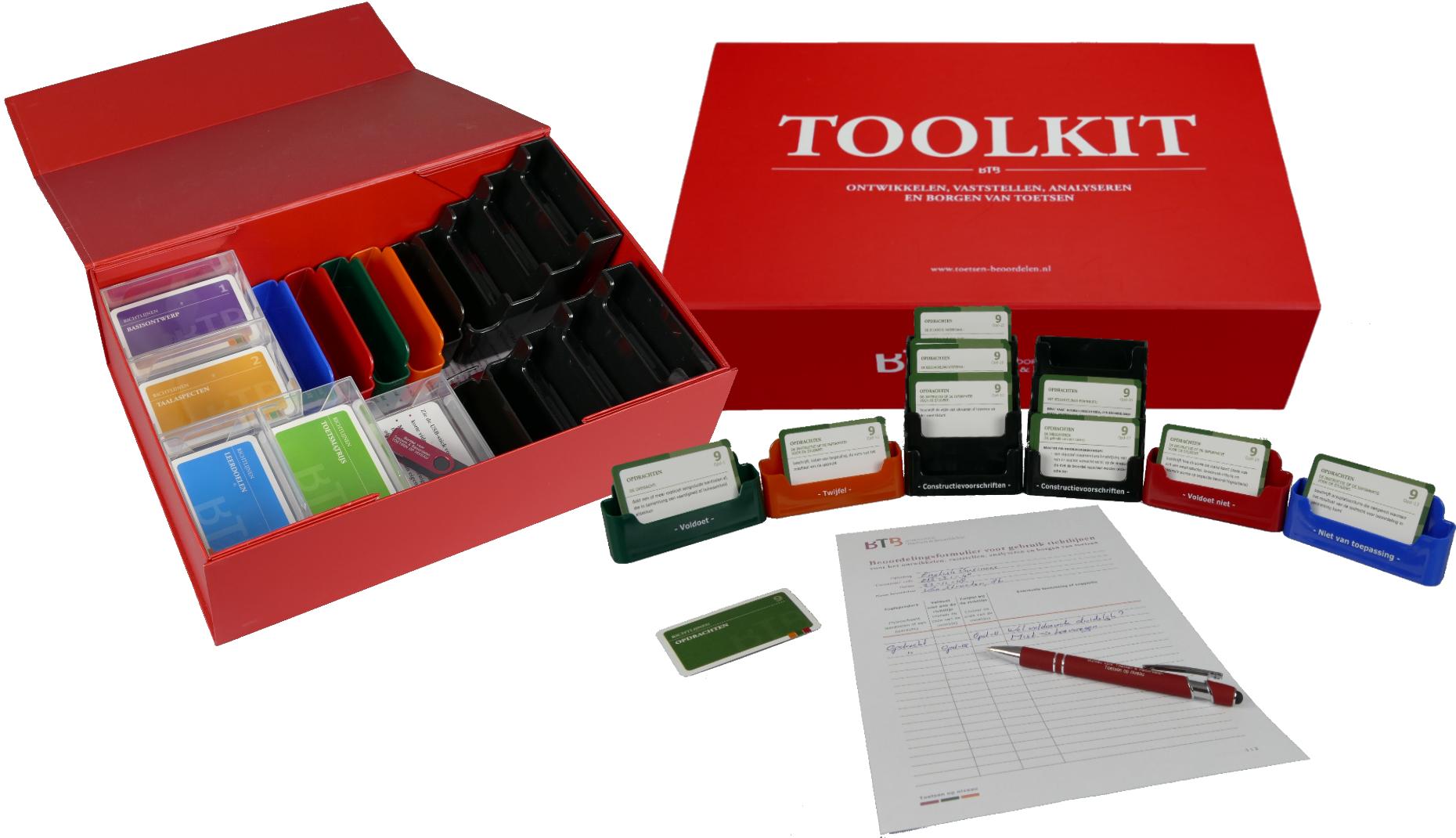 Toolkit voor het ontwikkelen, vaststellen, analyseren en borgen van toetsen